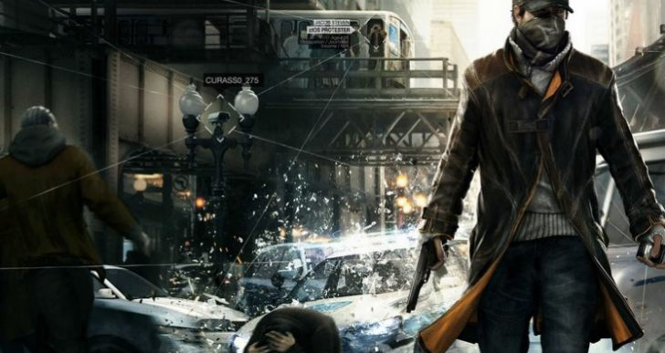 Watch Dogs world map vs. GTA V