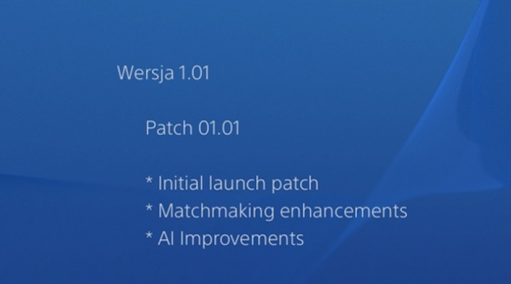Watch Dogs 1.01 patch on PS4, PC