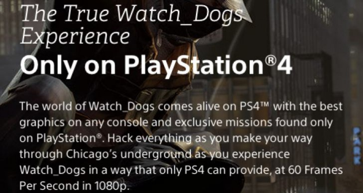 Watch Dogs PS4 Vs Xbox One, PC for best experience