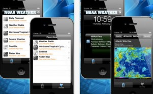 Weather alert app for Tornado warnings