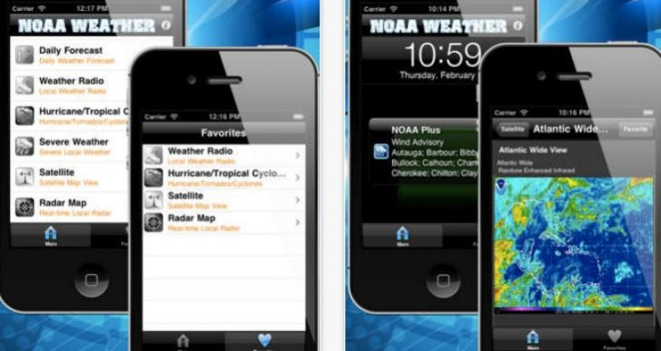 Weather alert app for Tornado warnings
