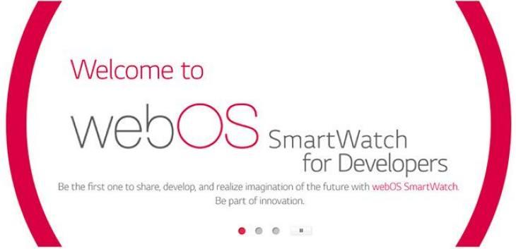 webOS LG smartwatch