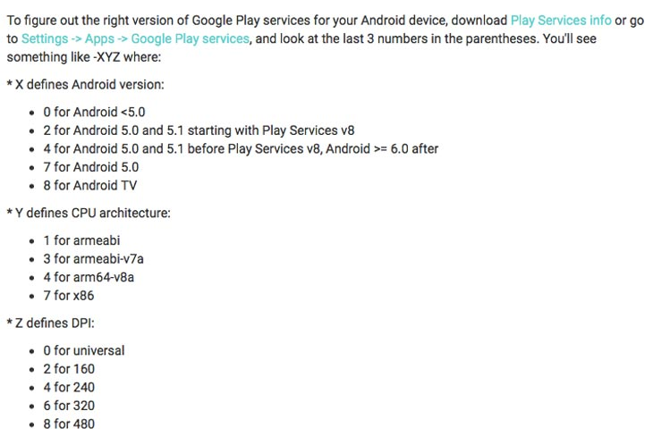 what-version-of-google-play-services