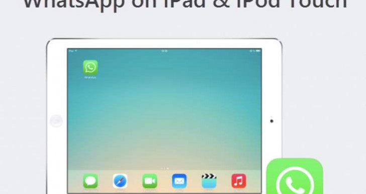 Whatsapp for iPad without jailbreak on iOS 8