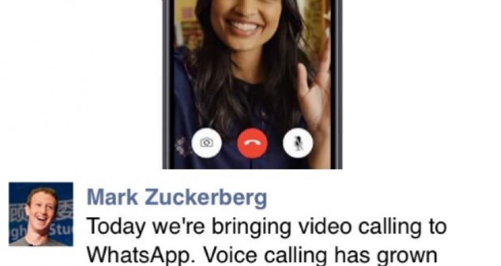 Whatsapp Video Calling activation with 2.16.17 notes