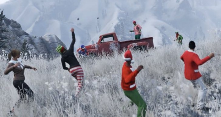 GTA Online Snow 2015 update after hoax
