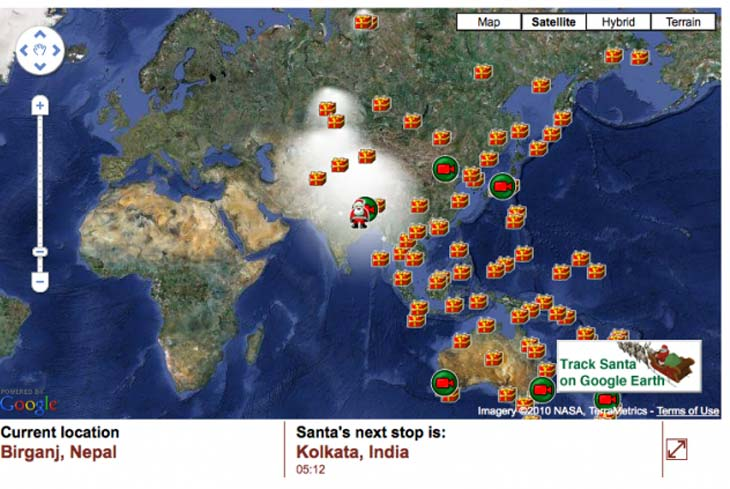 Where is Santa Claus in live Dec 2014 map tracker – Product Reviews on