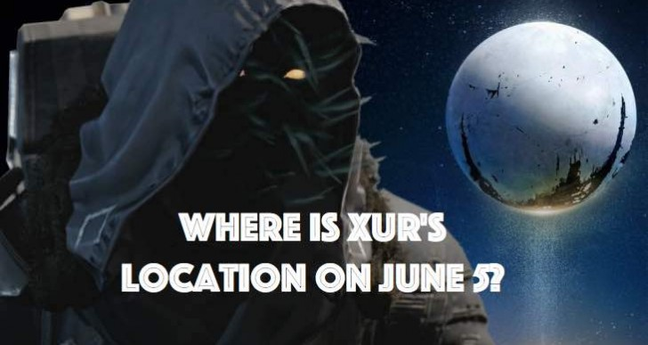 Destiny Xur location mystery for June 5