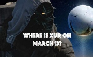 Seeking Xur Location on March 13 in Destiny
