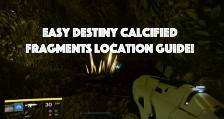 Destiny Calcified Fragments locations with tracker