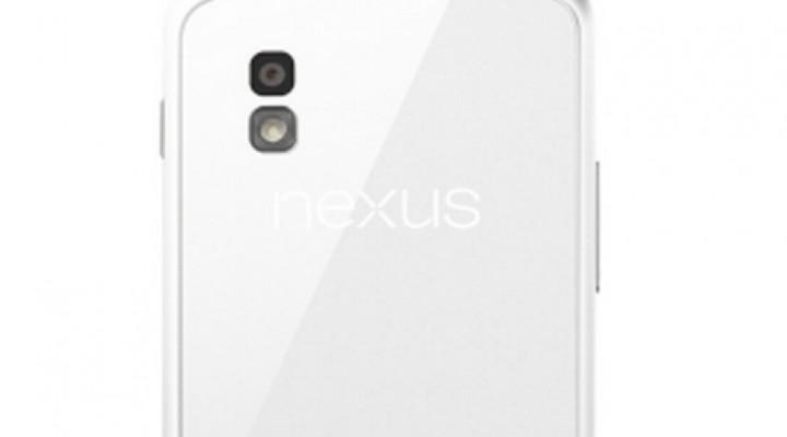 White Nexus 4 beauty, but no 32GB model