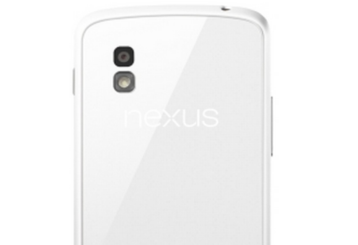 White Nexus 4 beauty, but no 32GB model