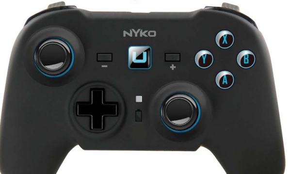 Wii U Nyko controller with Xbox 360 comfort
