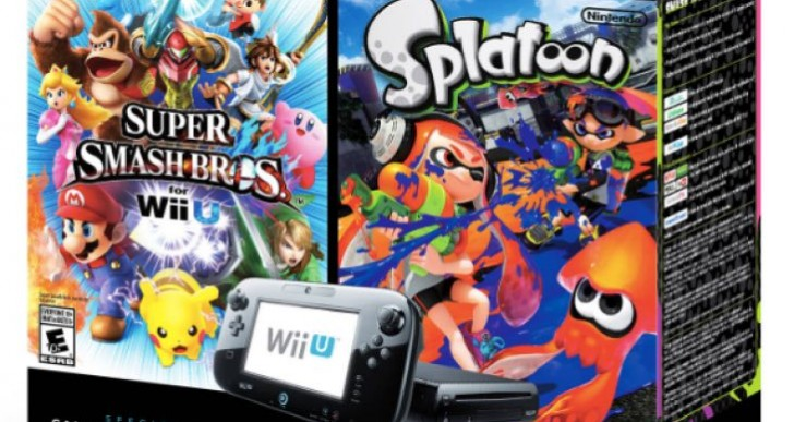 Splatoon, Smash Bros Wii U Bundle price at Walmart