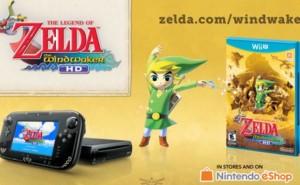 Wii U Zelda hardware with golden Triforce features