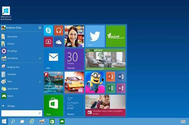 Windows 10 preview build 10041 and enable Jump Lists