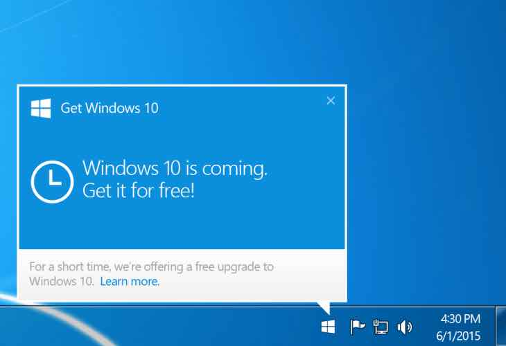Force Windows 10 update explained