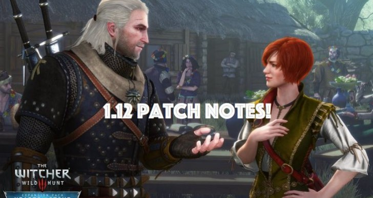 The Witcher 3 1.12 update with massive patch notes list