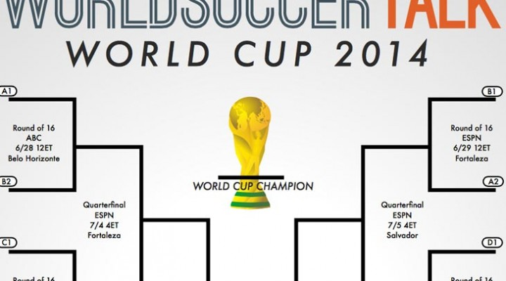 Printable World Cup PDF TV schedule for USA