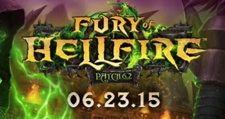 WoW 6.2 patch release time with notes