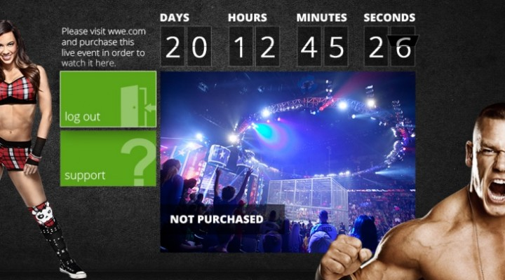 Wrestlemania 29 stream available on Xbox 360
