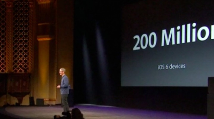 Apple's WWDC keynote video stream by podcast, not live