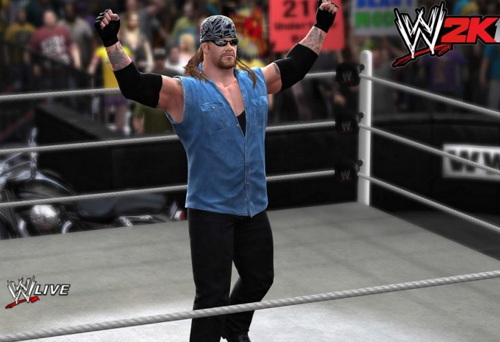 WWE 2K14 American Badass gameplay desired
