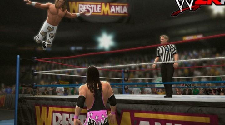 WWE 2K14 Bret Hart, Undertaker in classic matches