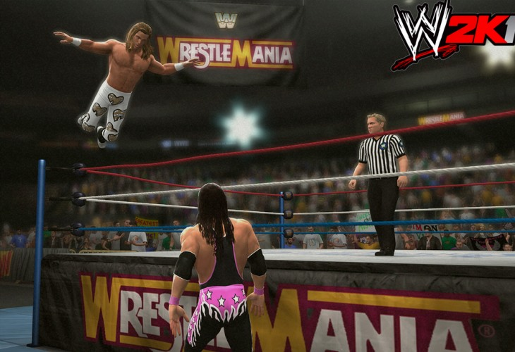 WWE 2K14 Bret Hart, Undertaker in classic matches