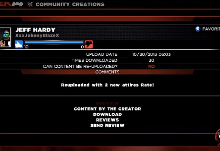 WWE 2K14 Jeff Hardy can be unlocked without DLC