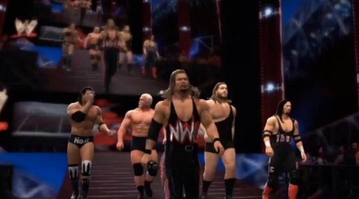 WWE 2K14 nWo DLC release date hype with Scott Steiner
