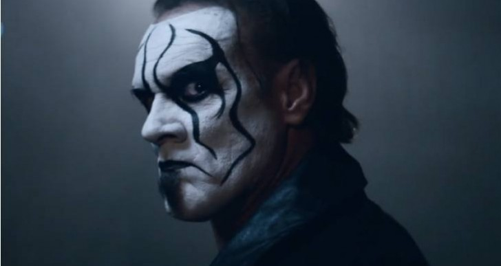 WWE 2K15 Sting trailer booed on RAW