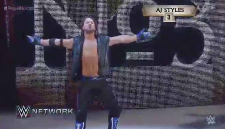 wwe-2k16-aj-styles-royal-rumble-debut