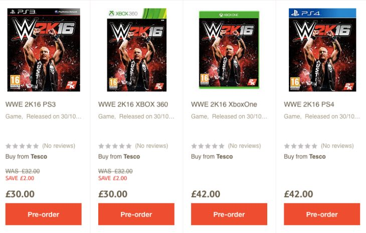 wwe-2k16-tesco-price