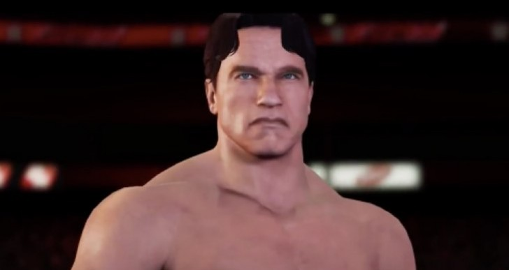 WWE 2K16 Terminator, T-800 entrance gameplay