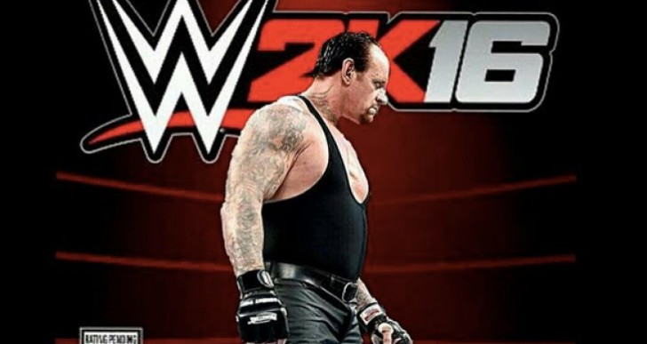 WWE 2K16 roster with new Undertaker