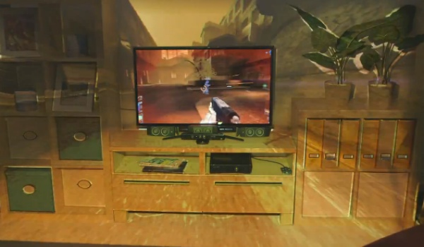 Xbox 720 better with IllumiRoom features