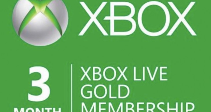 Xbox Live Gold 3 months free with Halo Wars 2