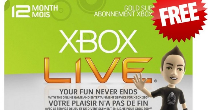 Xbox Live Gold free weekend entices gamers