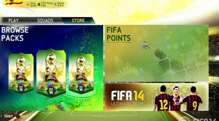 Xbox Live not working with FIFA 14 points