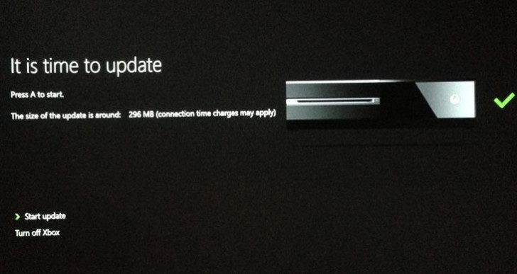 Xbox One system update solves Gold problem