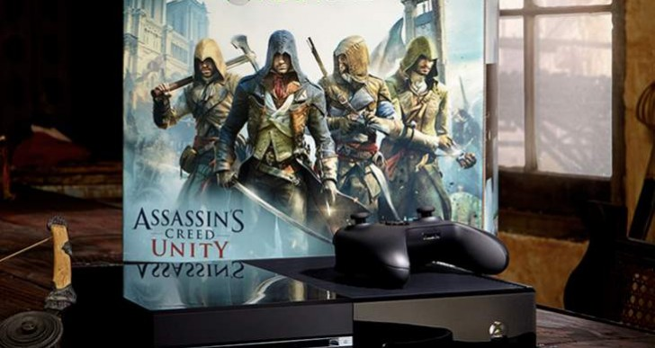 Assassin's Creed Unity Xbox One bundle at Walmart