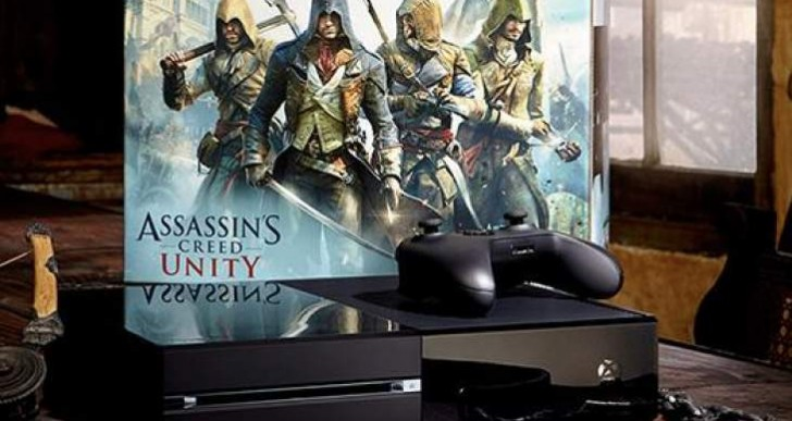 Assassin's Creed Unity pre-load for Xbox One, PS4