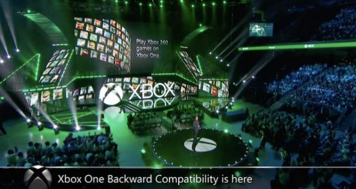 Another Xbox One U-Turn with backwards compatibility