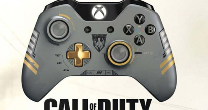 COD: Advanced Warfare LE Xbox One controller in UK, USA