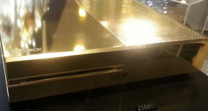Gold Xbox One for rich gamers unleashed