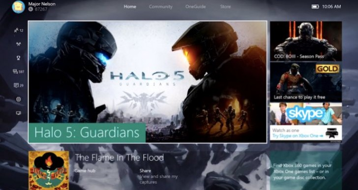 Xbox One system update notes for March 2016