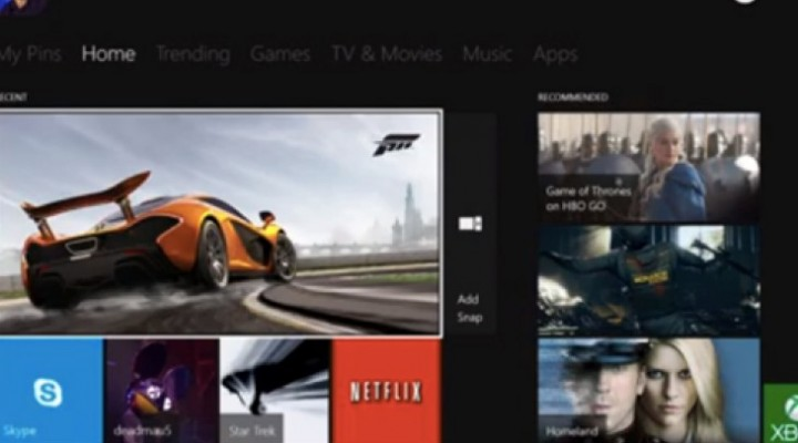 Xbox One 720p war on top of OS, Xbox Live rumors