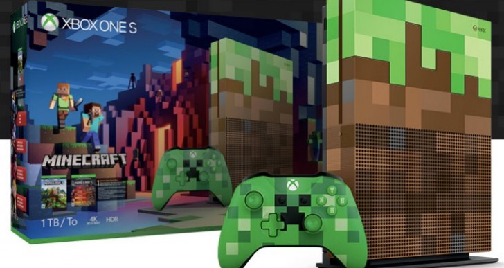 Minecraft Xbox One S Bundle pre-order price, release date