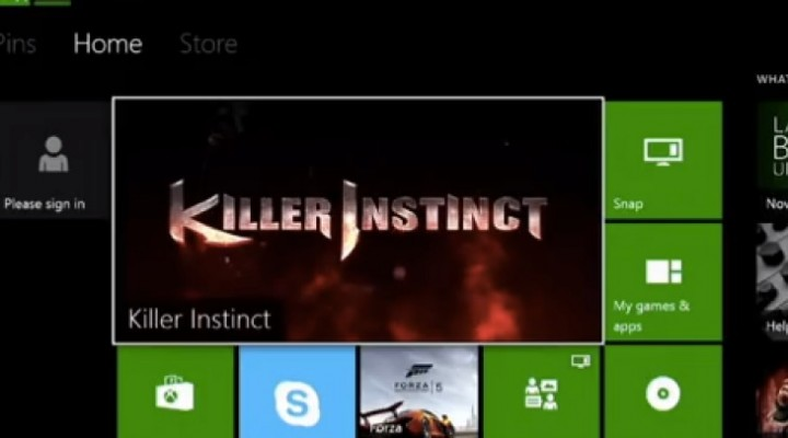 Xbox One UI features in dashboard preview